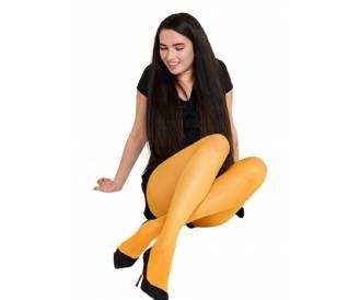 LADY CLAIRE цветные колготки  mustard 200 Den