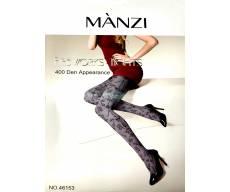 MANZI 400 Den непрозрачные колготки с рисунком