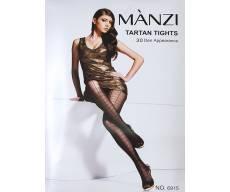 MANZI 30 Den тюлевые колготки с рисунком