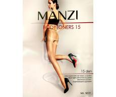 MANZI 15 Den колготки с моделирующими  шортиками