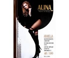 ALiNA 40/100 Den колготки имитация ботфорт