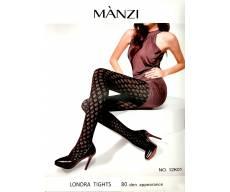 MANZI 200 Den колготки молочная визкоза