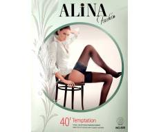 ALiNA 40 Den чулки с элегантной кружевной резинкой