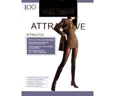 LADY CLAIRE 100 Den ATTRACTIVE эластичные колготки, матовые