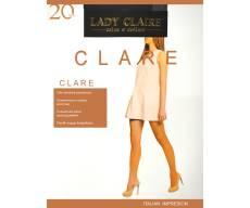 LADY CLAIRE 20 Den эластичные тонкие колготки