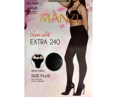 MANZI 240 Den EXTRA колготки для полных женщин