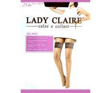 LADY CLAIRE 20 Den BELINDA классические эластичные чулки