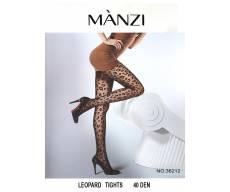 MANZI 40 Den непрозрачные колготки с рисунком