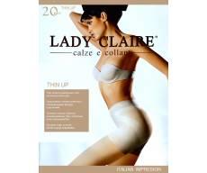 LADY CLAIRE 20 Den THIN UP эластичные тонкие колготки