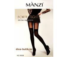 MANZI 200 Den Forte Tights колготки с имитацией чулок