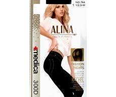 ALiNA 300 Den колготки из микрофибры, с утягивающим эффектом