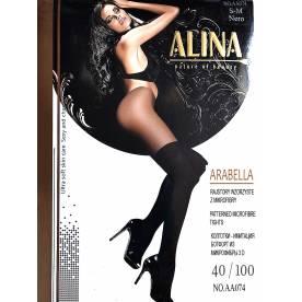 ALiNA 40/100 Den колготки имитация ботфорт из микрофибры