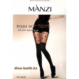 MANZI 240 Den колготки с имитацией чулок