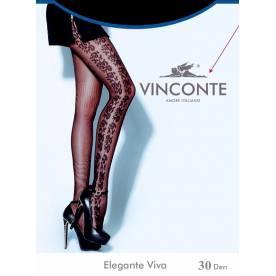 VINCONTE 30 Den Еlegante Viva колготки с рисунком